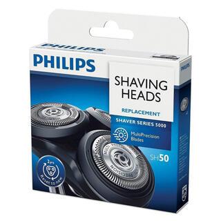 フィリップス(PHILIPS)のSH50 シェーピングヘッド替え刃 5000シリーズ シェーバー交換用替刃(メンズシェーバー)