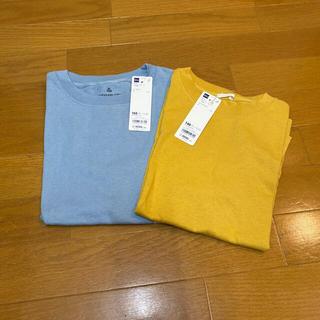 GU - コットンカラーTシャツ 2枚
