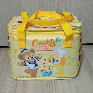 Disney - 香港ディズニーランド限定 クッキー&ダッフィー ランチトート 保冷バッグ