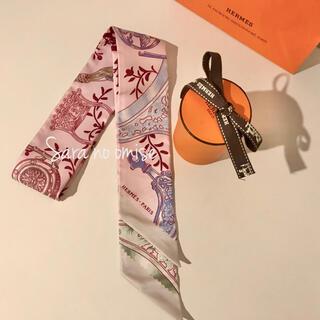 エルメス(Hermes)のHermes 新品未使用 ツイリー  鐙リミックス (バンダナ/スカーフ)