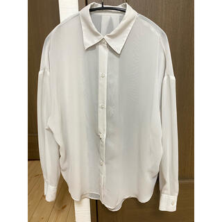 しまむら - しまむら 2PINK シアーシャツ ブラウス