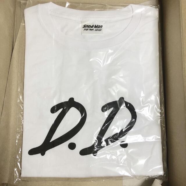 2D.2D. Snow Man Tシャツ エンタメ/ホビーのタレントグッズ(アイドルグッズ)の商品写真