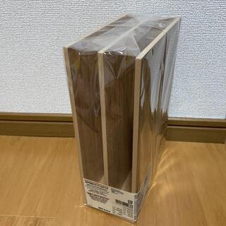 ムジルシリョウヒン(MUJI (無印良品))の無印良品 MDF収納スタンドA5サイズ(小物入れ)
