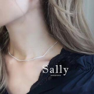 フレイアイディー(FRAY I.D)の再販【silver 925 】シンプルなスネークチェーンネックレスsv 925 (ネックレス)