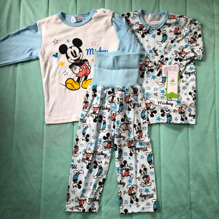 ディズニー(Disney)の新品☆ディズニー ミッキー 2トップス パジャマ(パジャマ)
