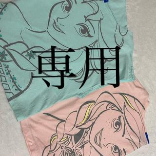 ディズニー(Disney)の東京ディズニーリゾート アナ・エルサ オフショルTシャツ(その他)
