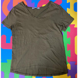 ティティベイト(titivate)のカーキTシャツ(Tシャツ(半袖/袖なし))