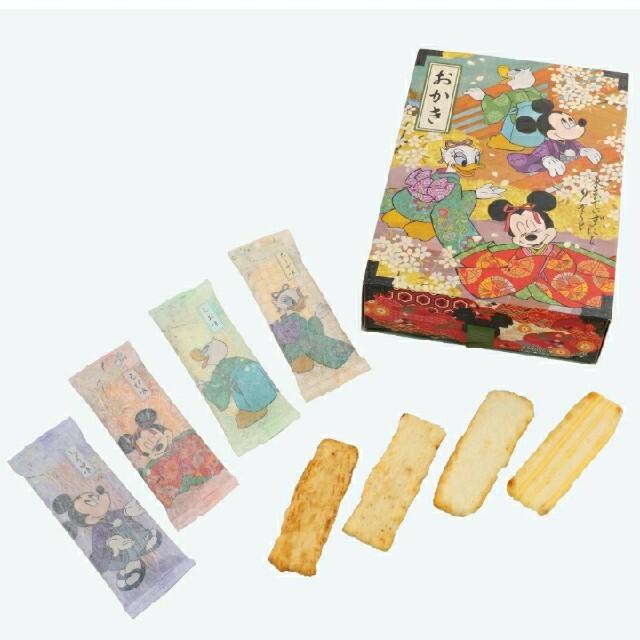 Disney(ディズニー)の東京ディズニーリゾート限定品 お菓子 おかき エンタメ/ホビーのおもちゃ/ぬいぐるみ(キャラクターグッズ)の商品写真