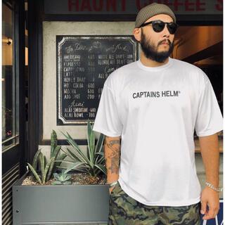 ネイバーフッド(NEIGHBORHOOD)のCAPTAINS HELM #TRADEMARK LOGO DRY TEE 白(Tシャツ/カットソー(半袖/袖なし))
