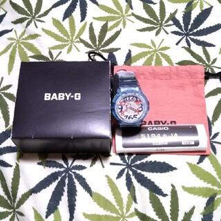 ベビージー(Baby-G)のCASIO Baby-G bga-131 ジーショック ブルースケルトン(腕時計)