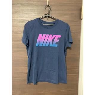 NIKE - NIKE  Tシャツ  美品  紺  半袖Tシャツ  男女兼用