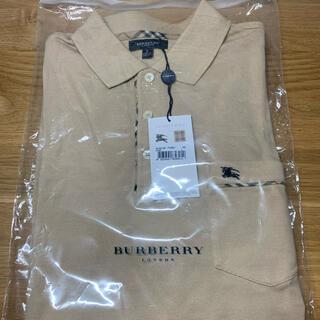 バーバリー(BURBERRY)の新品 未使用 バーバリー ポロシャツ メンズ BURBERRY US Lサイズ(ポロシャツ)