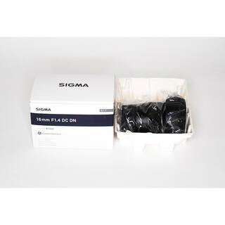 SIGMA - sigma 16mm f1.4 DC DN SONY