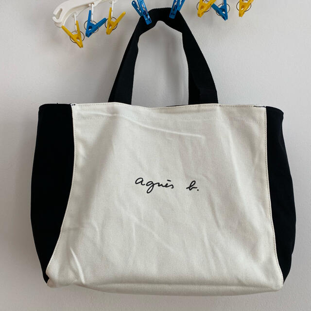 agnes b.(アニエスベー)のアニエスベーボヤージュ ツートンカラー レディースのバッグ(トートバッグ)の商品写真
