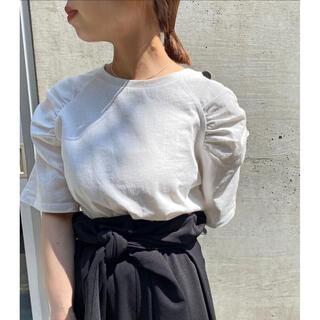 mystic - omekashi  シャーリングパフTシャツ
