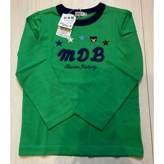 ダブルビー(DOUBLE.B)の長袖刺繍Tシャツ(Tシャツ/カットソー)