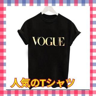 韓国ファッション 人気のTシャツ ロンT ブラック レディース VOGUE