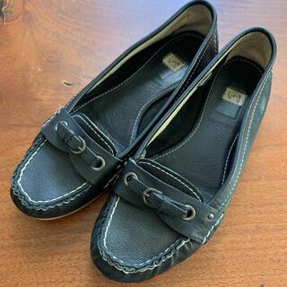 イング(ing)の【ing】レザーローファー 23cm 黒(ローファー/革靴)