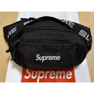 Supreme - 人気モデル 黒色Supreme Waist Bag