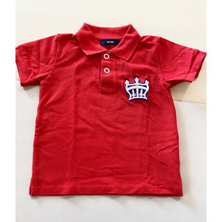 ロデオクラウンズワイドボウル(RODEO CROWNS WIDE BOWL)のRCSWB クラウンマーク キッズポロシャツ(Tシャツ/カットソー)