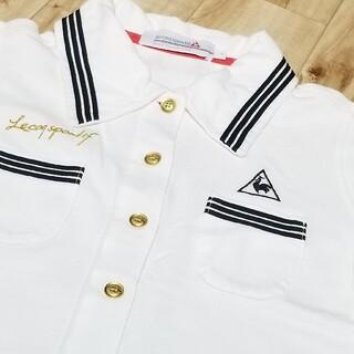 インナー付 ルコック ワンピース ゴルフウェア M 半袖 シャツ