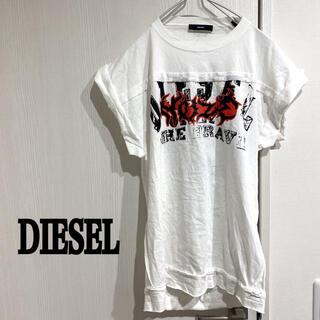 DIESEL - DIESEL 背中開き 半袖Tシャツ ノースリーブ タンクトップ