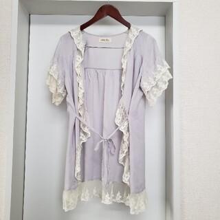アンティローザ(Auntie Rosa)のアンティローザ 2way半袖ガウン 羽織り(その他)