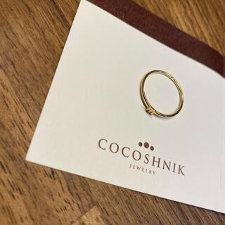 ココシュニック(COCOSHNIK)のCOCOSHNIK ココシュニック イニシャルリングm(リング(指輪))