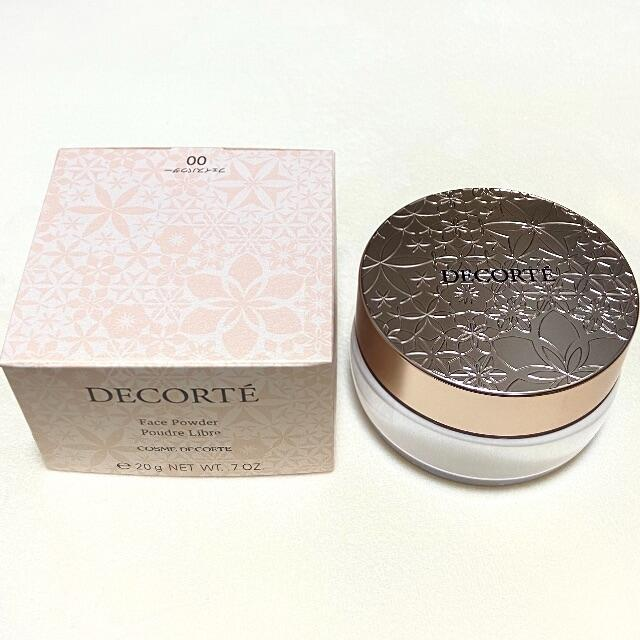 COSME DECORTE(コスメデコルテ)の新品 コスメデコルテ フェイスパウダー #00 コスメ/美容のベースメイク/化粧品(フェイスパウダー)の商品写真