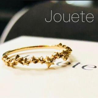 ete - 【Jouete】K10YG ゴールドスター レイヤード リング