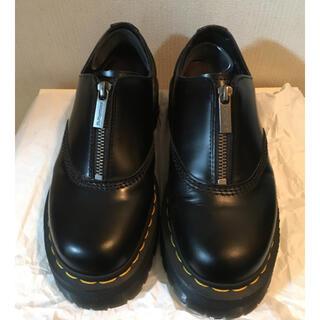 ドクターマーチン(Dr.Martens)のドクターマーチン☆オウリアン2クアッド 厚底ジップ(ローファー/革靴)