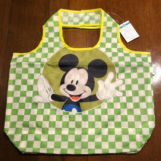 ディズニー(Disney)のディズニー デザインBIGマルシェバッグ 市松ミッキー(エコバッグ)