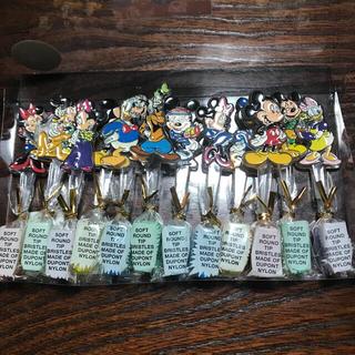 ディズニー(Disney)のディズニーキャラクター 歯ブラシ12本セット(歯ブラシ/歯みがき用品)
