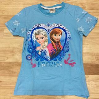 アナと雪の女王 - アナと雪の女王 韓国メーカー プリントTシャツ 120