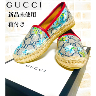 Gucci - グッチ  エスパドリーユ 靴 レディース GG 新品