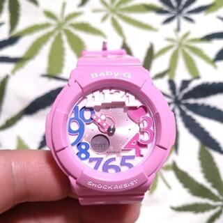 ベビージー(Baby-G)のCASIO Baby-G bga-131 ジーショック ピンク×ピンク(腕時計)