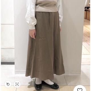エヘカソポ(ehka sopo)の麻レーヨンスカート(ロングスカート)