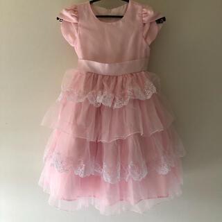 キャサリンコテージ(Catherine Cottage)の女の子ピンク フォーマルドレス 120 130エンジェルローブワンピース 発表会(ドレス/フォーマル)