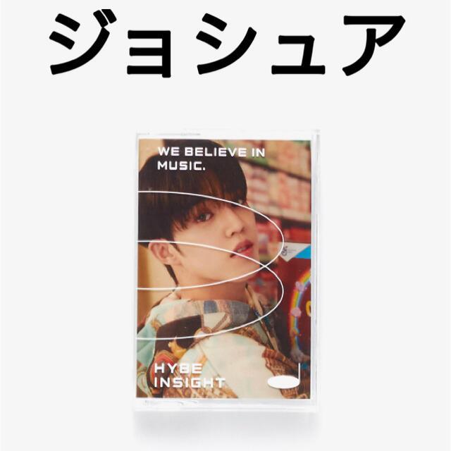 SEVENTEEN(セブンティーン)のSEVENTEEN ジョシュア HYBE INSIGHT フォトカード トレカ エンタメ/ホビーのCD(K-POP/アジア)の商品写真