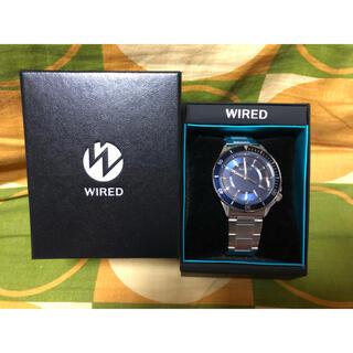 ワイアード(WIRED)のセイコー WIRED クロノグラフ 腕時計SEIKO AGAJ402 電池切れ(腕時計(アナログ))