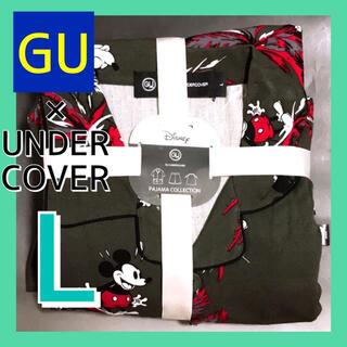 UNDERCOVER - オンライン完売★昔のミッキー♡GU×UNDERCOVERパジャマ オリーブ