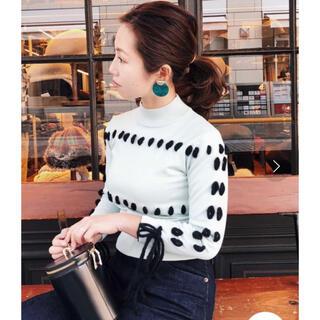 Ameri VINTAGE - 新品タグ付きアメリヴィンテージstitch chibi knit・ameri