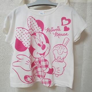 ディズニー(Disney)の120 ディズニー ミニー 半袖Tシャツ(Tシャツ/カットソー)