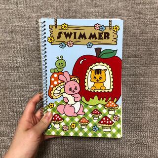 美品 SWIMMER リングノート(ノート/メモ帳/ふせん)