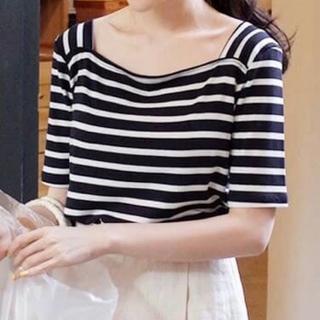 ディーホリック(dholic)のDHOLIC ボーダーTシャツ(Tシャツ(半袖/袖なし))