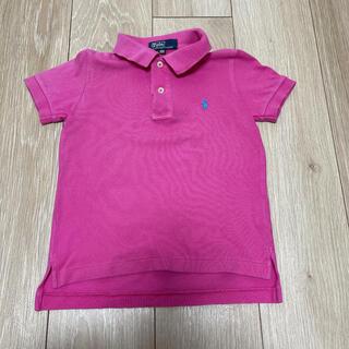 ラルフローレン(Ralph Lauren)のラルフローレン ポロシャツ 100cm ピンク(Tシャツ/カットソー)