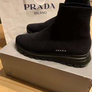 PRADA - PRADA ソックススニーカー