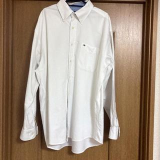 トミーヒルフィガー(TOMMY HILFIGER)のTOMMY HILFIGER ホワイトTシャツ(シャツ)