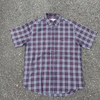 バーバリー(BURBERRY)の90s 古着 Burberry バーバリー ノバチェック 半袖シャツ(シャツ)