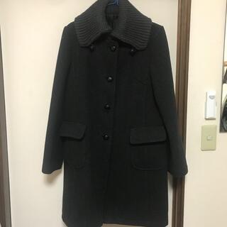 エーティー(A/T)のコート AT チェスターコート ブラック ジャケット ロングコート(ロングコート)